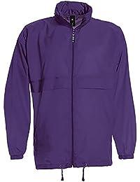 Men purple jacket