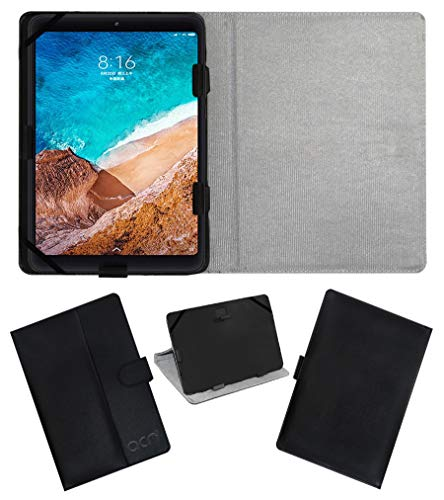 ACM Leather Flip Flap Case for Xiaomi Mi Pad 4 LTE Tablet Cover Stand Black