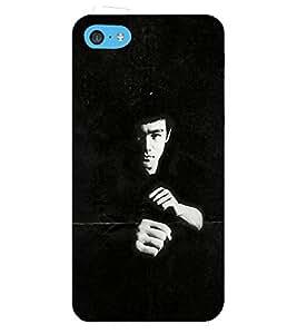 FUSON Martial Art Master 3D Hard Polycarbonate Designer Back Case Cover for Apple iPhone 5c