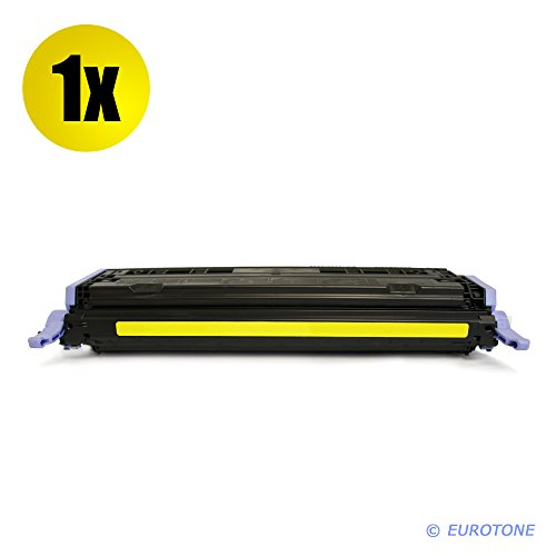 Alternative Eurotone Tonerpatrone remanufactured YELLOW für HP Color LaserJet 1600 2600 2605...