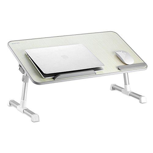 MAPUX Multifunktionstisch Tragbar Höhenverstellbar und Winkelverstellbar Laptoptisch Laptopständer...
