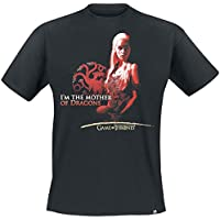 GAME OF THRONES - Tshirt Mother of dragons man SS black - basic