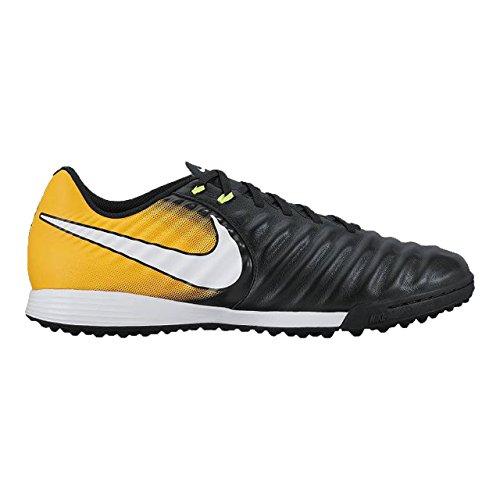 Nike Tiempox Ligera IV TF, Chaussures de Football Homme Noir