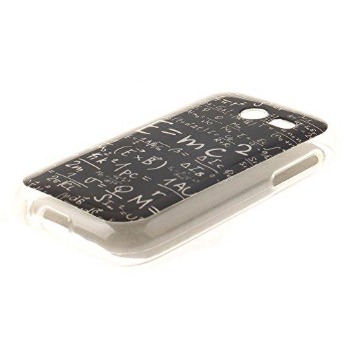 Samsung Galaxy Pocket 2 SM-G110 hülle,MCHSHOP Ultra Slim Skin Gel Schlank TPU Case Schutzhülle Silikon Silicone Schutzhülle Case Back Cover für Samsung Galaxy Pocket 2 SM-G110H - 1 Kostenlose Stylus P Das Gesetz der Schwerkraft