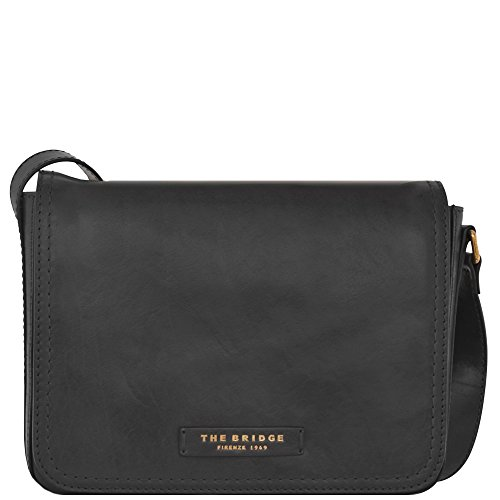 The Bridge Story Donna Borsa a tracolla II pelle 30 cm nero-goldfarben