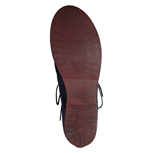 s.Oliver Damenschuhe 5-5-25205-37 Damen Schnürboots, Boots, Stiefel, Stiefeletten Navy