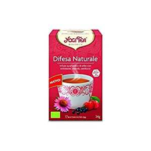 Yogi Tea Difesa Naturale Infuso Di Erbe - 17 Bustine Filtro [34 gr]
