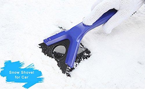 Preisvergleich Produktbild Auto Schneeschaufel Eiskratzer Car Windschutzscheibe - Essentials Winterset Auto Mit Blau – 2ME