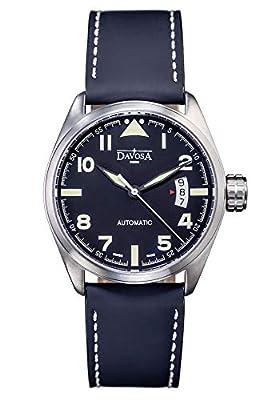 Davosa Automatic Black Military Style Wrist Watch