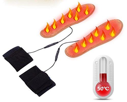 GXS Elektro-Heizung Einlegesohlen warme Füße Schatz Fieber Einlegesohlen aufladbaren Einlegesohlen warme Füße den ganzen Fuß Fieber , 41