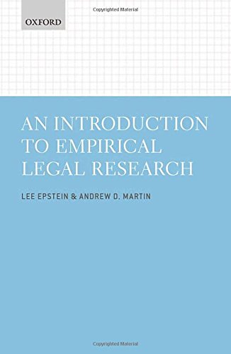 Introduction to Empirical Legal Research