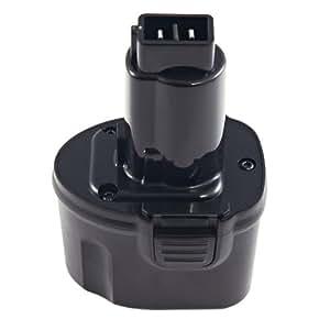 Levipower Batterie pour Dewalt DW920K, DW920K2, DW920K-2 compatible DE9057, DE9085, DW9057
