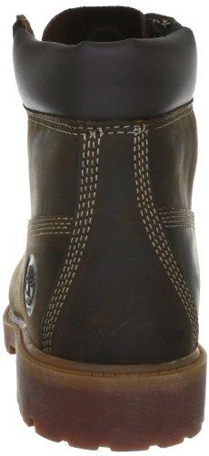 """Timberland Authentic 6"""" Rust, Boots garçon Brun"""