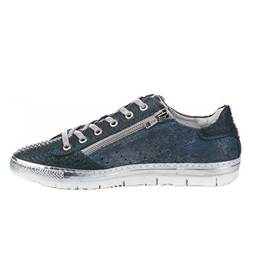 Baskets mode femme - KHRIO - Bleu - 1303 - Millim Bleu