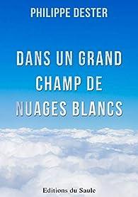 Dans un grand champ de nuages blancs par Philippe DESTER