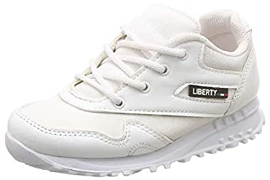 Force 10 (from Liberty) Boy's White Formal Shoes - 7 Kids UK/India (24 EU)(9906144110240)