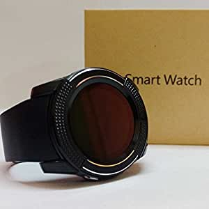 sampi HTC Desire 626 Dual Sim Compatible Certified Bluetooth Smart Watch V9 Wrist Watch Phone with Camera & SIM Card Support New Arrival Best Selling Premium Quality with Time Schedule / Read Message or News / Sports / Health / Pedometer / Sedentary Remind & Sleep Monitoring / Better Display / Loud Speaker / Microphone / Touch Screen / Multi-Language Pedometer Sleep Monitor, Anti Lost Feature Touch Screen, Music Playing