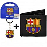 FC Barcelona (PU) portafoglio e portachiavi Gift set immagine