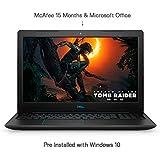 Dell G3 3579 15.6-inch FHD Laptop (Core i7 8th gen/16GB/1TB+256GB SSD/Windows 10 + MS Office/4GB Graphics/Black)