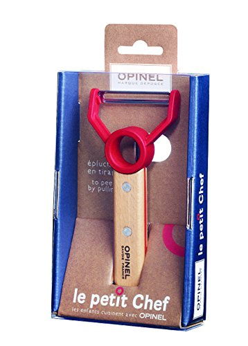 Opinel Messer Opinel Le petit Chef, Sparschäler, rostfrei, grau, M, 1010309610