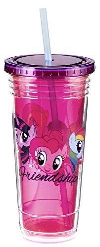 Tazza da viaggio, in materiale acrilico, motivo: My Little Pony, 24 oz licenza 42214 Gifts Toys