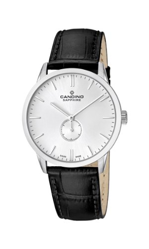 Candino Herren-Armbanduhr XL Analog Quarz Leder C4470/1