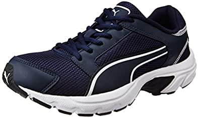 Puma Men's Splendor Dp Dark Denim and White Running Shoes - 9 UK/India (43 EU)