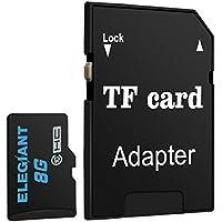 elegiant 32Go Carte mémoire Micro SD TF carte mémoire Memory Card Classe 6avec adaptateur SDHC