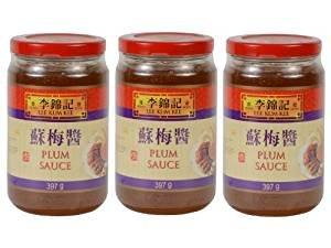 Lee Kum Kee – Pflaumensauce – 3er Pack (3 x 397g) – Original chinesisch