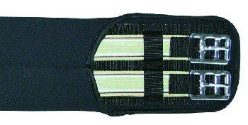 Neoprensattelgurt Elastik HKM schwarz 110cm