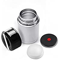 MAVIE 1000 ml Botella Aislada de Acero Inoxidable Doble Pared Frasco Thermos Food Caja Aislada para Alimentos Thermos Flask Vacuum para Alimentos y Beber