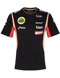 64a95bc37fc4d T Camisa Camiseta para Hombre de fórmula uno 1 Lotus F1 Team pedevesa  patrocinador ...