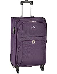 Pronto Camry Polyester 58 cms Purple Softsided Carry-On (6466-PP)