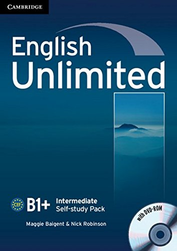 English Unlimited B1+: Intermediate. Self-study Pack with DVD-ROM