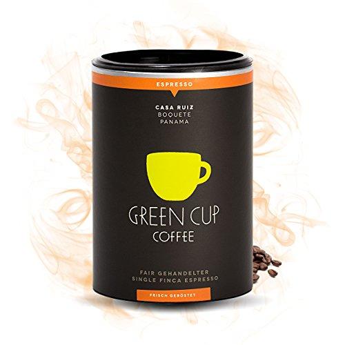 Green Cup Coffee Casa Ruiz - der fair gehandelte Arabica Espresso aus Panama - Gourmet...