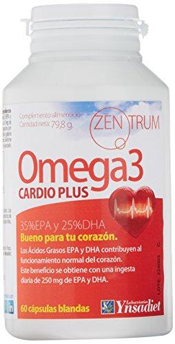 Omega 3 Cardio Plus - Aceite de pescado - Fish oil - 60 cápsulas