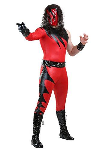 ens Fancy dress costume 2X (Wwe Kane Kostüm)