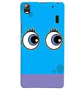 Citydreamz Tweety Eyes\Cartoon Hard Polycarbonate Designer Back Case Cover For Lenovo A 7000/A7000/ K3 Note