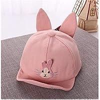 Cappellino Neonato Cuffia in Cotone per Bebè con Orecchie per Bambini  Cappello per Protezione Solare con 99fc8e6b5e35