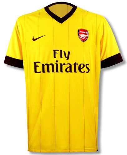 Nike Arsenal Ss Away Repl Jsy 386824-749 Herren Kurzarm T-shirts Fuâ-'ball Gr. XL