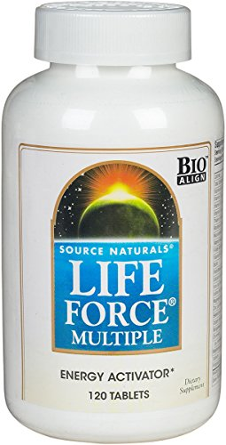 Life Force Multiple - 120 - Tablet by Source Naturals - Multiple 120 Tablets