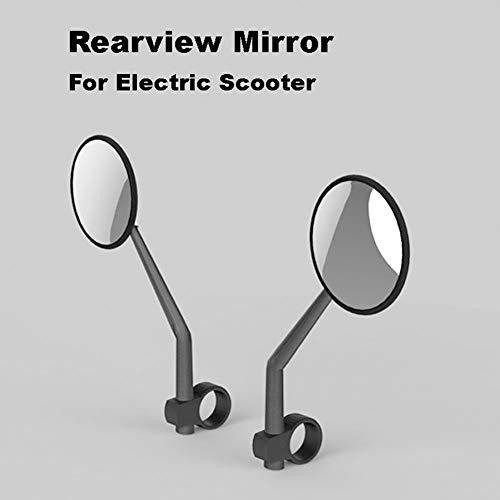 CVERY Espejo retrovisor para Scooter eléctrico, Estructura giratoria, Duradero, Apto para Xiaomi Mijia M365, Espejo retrovisor de Repuesto