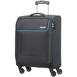 American Tourister- Funshine spinner 4 ruedas 55/20 equipaje de mano, gris (sparkling graphite), S (55cm-36L)