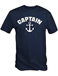 Captain Anchor Nautical Sailing T Shirt