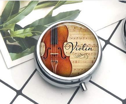 Anhänger, Geschenk für Musiklehrer, Violinisten-Geschenk, Pillendose ()