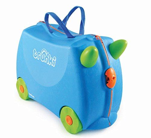 Terrance Trunki Ride en la maleta 3+