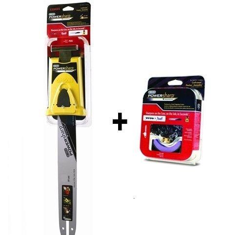 35,6 cm Oregon Powersharp kit d'affûtage pour tronçonneuse Bosch Ake35s tronçonneuses.