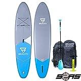 BRUNOTTI FAT Ferry 10.6 iSUP Stand Up Paddle Surfboard SUP Paddelboard mit Paddel