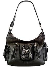 Stylogy Women's Tote Bag (Black) (bag-shld07-00001-a)
