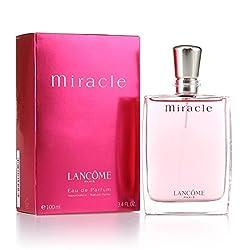 Miracle di Lancôme - Eau de Parfum Edp - Spray 100 ml. Creata nel 2000 da Harry Fremont e Alberto Gorillas, Miracle di Lancôme è un'eau de parfum femminile e vibrante. La fragranza rievoca la magica atmosfera dell'alba grazie ad un prezioso bouquet d...
